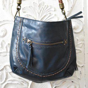 The Sak Leather Handbag blue